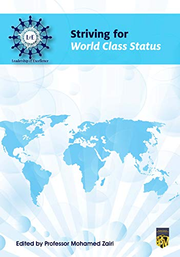 Striving for World Class Status PDF Descarga gratuita