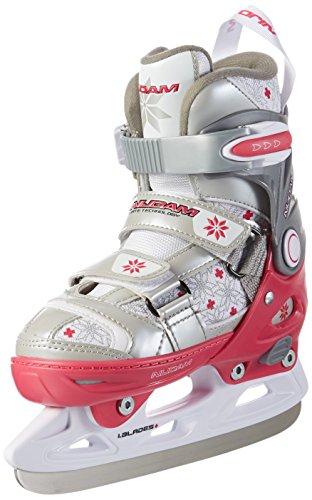 Nijdam Kinder Eiskunstlaufschlittschuhe Kunstlauf Schlittschuhe größenverstellbar