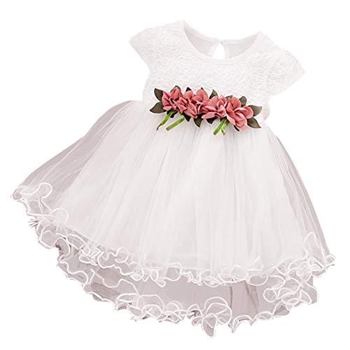 Fascigirl Baby Girls Dress Sleeveless Floral Pattern Tutu Dress Princess Dress Party Dress