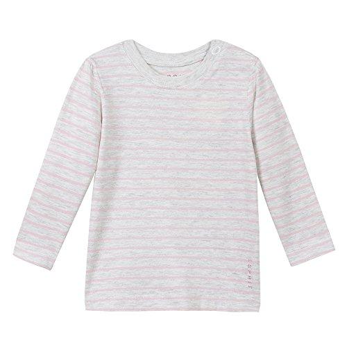 Esprit Kids Baby-Mädchen T-Shirt, Grau (Pastelgrau 050), 80