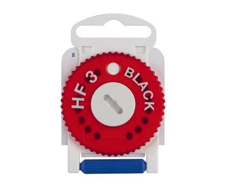 Preisvergleich Produktbild HF-3 Black Cerumen Filter für Hörgeräte (HF3 Black - Rot Rechte Seite) (rot)