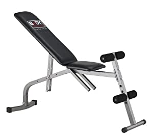 Body Sculpture BSB512 Weights Bench - Black/Grey