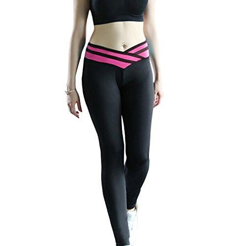 GoVIA - Leggings sportivi - Basic -  donna Modell 1-Violett