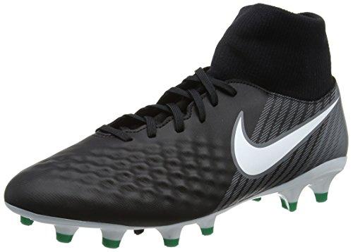 Nike Herren Magista Onda II DF FG Fußballschuhe, Schwarz (Black/White-Dark Grey-Stadium Green), 44 EU (9 UK) (Ace Schuhe 2)