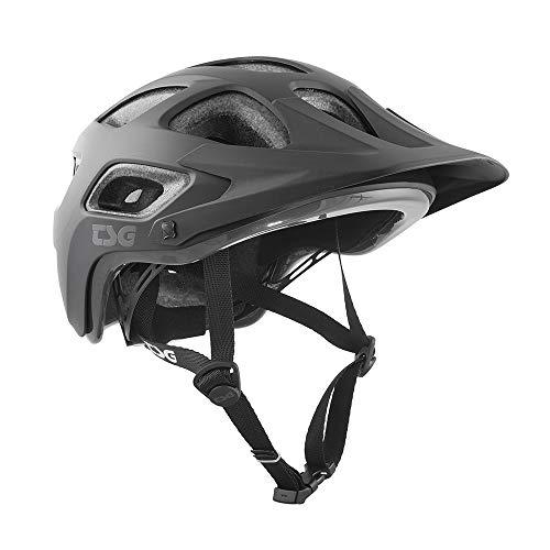 TSG Erwachsene Seek Solid Color Helm, Satin Black, S/M