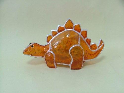 iberglas beleuchteter Dinosaurier Dekoleuchte Kinderzimmerlampe (Beleuchtete Fensterdekoration Für Halloween)