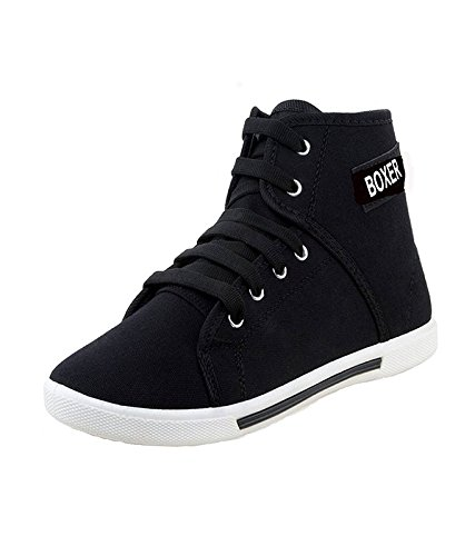 Pert 250-350-450-499-299-399-599 Men's Casual Shoes Black(Sneakers)  available at amazon for Rs.397