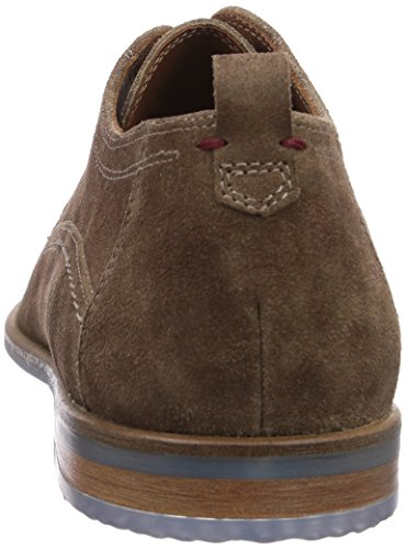 Scivio Derby pedra Brogues Up Homens Cinza Lace Sioux TzFzwxq8