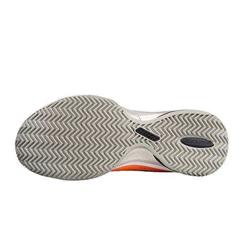 Lotto Donna Viper Ultra III Clay Scarpe da Tennis Scarpa per Terra Rossa Arancione - Bianco 40,5