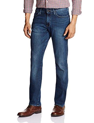 Wrangler Men's 7Icon Classic Slim Fit Jeans (8907222315214_WRJN5617_34_blue)