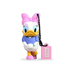 Idea Regalo - Chiavetta USB 8 GB Daisy Duck - Memoria Flash Drive 2.0 Originale Disney, Tribe FD019407