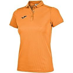 Joma 900247 Camiseta Polo, Mujer, Naranja Flúor, L