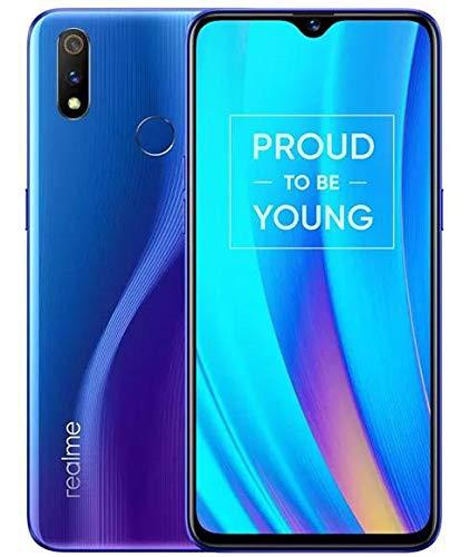 realm 3 pro 6.3 '' 6 GB 128GB Smartphone, 6.3 '' Snapdragon 710 4045mAh Global Version (Blue)