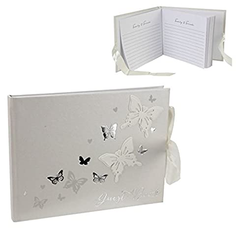 Country Baskets Juliana Love Butterfly Guest Book
