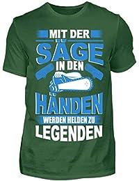 02a7b1d95441 Holz Shirt für Holzfäller Kettensäge   Motorsäge Baum   Wald Säge    Pullover Jacke   Förster…