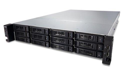 Buffalo Technology Deutschland Buffalo TS-2RZH24T12D-EU TeraStation Enterprise (NAS-System 24TB (12x 2TB), 12-BAY, SATA III, USB 2.0) schwarz/grau   5060218473237