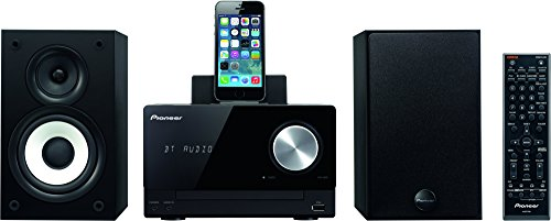 Player Ipod Dock Cd Stereo (Pioneer X-CM42BT-K Kompaktanlage (2x 15 Watt, Bluetooth, Front-USB, CD, Streaming App, Lightning Dock für Apple iPod/iPhone) schwarz)