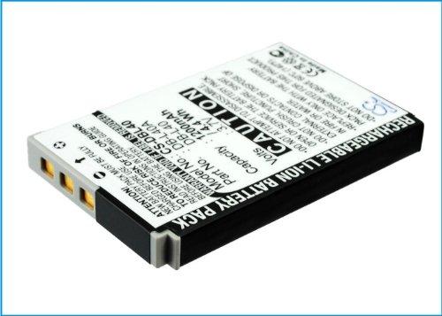 Replacement Akku für Sanyo Xacti DMX-HD800, DMX-HD2, DMX-HD1A, VPC-HD1, VPC-HD1E, Xatic VPC-HD1A, HD1, VPC-HD700, VPC-HD2, VPC-HD1EX, DMX-HD1 (DB-L40, DB-L40A, DB-L40AU) Xacti Hd1a