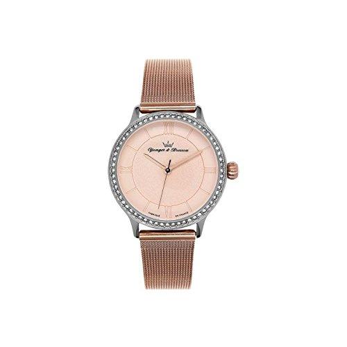 Orologio donna Yonger & Bresson Rosa Dorata–DCC 095s-2tm