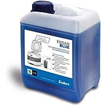 Liquido sanitario per WC chimico Blue 5,0, additivo disgregante per il serbatoio delle feci