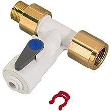 ELMAG 42422 Druckluft T St/ück mit AG 1//4 aus Messing