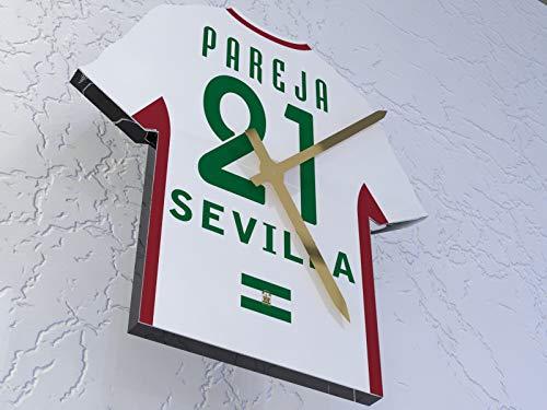 MyShirt123 Sevilla FC Fútbol Club–Camiseta de fútbol Reloj–Cualquier Nombre y Cualquier número–Elegir.