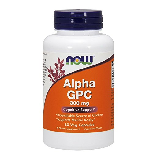 Now Foods Alpha Gpc, 60 Vcaps, 300 Mg