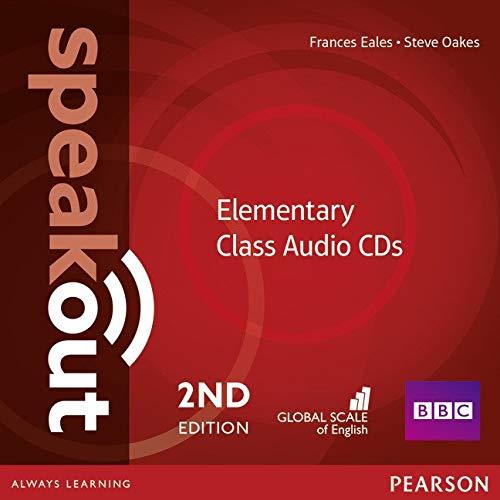 Speakout. Elementary. Per le Scuole superiori. Class CDs Audio
