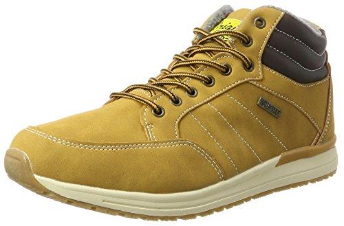 H.I.S Herren 044-010 Chukka Boots, Gelb (Tan), 44 EU