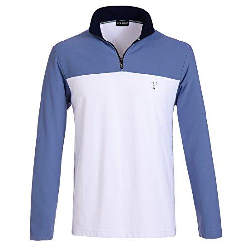 golfino-herren-golfbekleidung-extra-dry-pikee-troyer-golf-polo-langarm