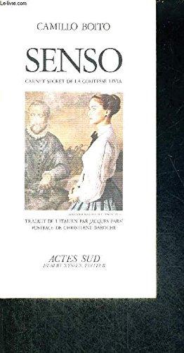 Senso: carnet secret de la Comtesse Livia