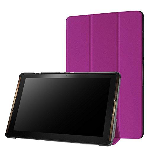 Acer Iconia Tab 10 A3-A40 Housse Etui, Pasonomi® Ultra Slim étui Housse Cuir Coque avec Support pour Acer Iconia Tab 10 A3-A40 Tablette, Violet