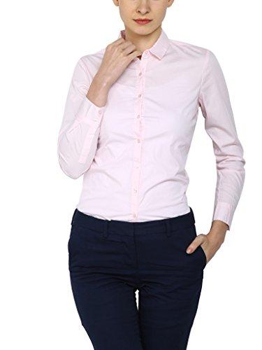 Arrow Regular Fit Pink Shirt