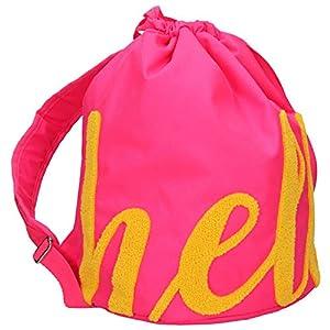 Depesche- TOPModel Bolsa Porta Hello Rosa Fucsia, Color Pink Gelb (Top Model 10186)