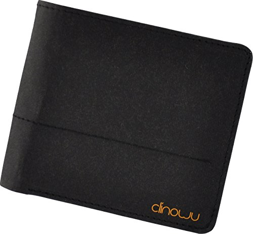 clinowu Portemonnaie im Querformat, unisex | Premium-Geldbeutel aus Kraftpapier, ohne Leder, vegan | RFID-Blocker eingebaut - 2