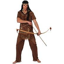 Atosa - Disfraz de india para hombre, talla L (M/L) (10226)