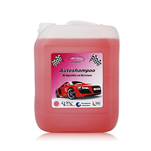 RedFOX24 5 Liter Professional Premium Autoshampoo Konzentrat mit Abperleffekt & Aktivschaum