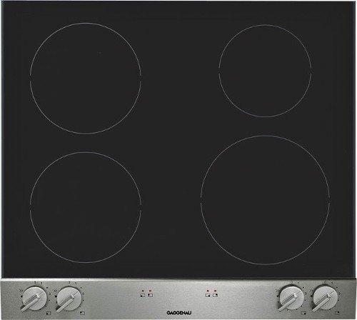 Gaggenau - Piano Cottura ad Induzione in Vetroceramica VI 260 134 da 60cm  con Frontalino Comandi in Alluminio