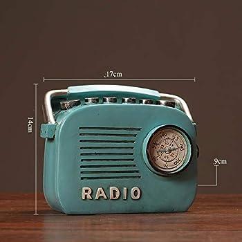 Euro - nostalgie antiquités microphone americain Creative Home Room , Blue Radio