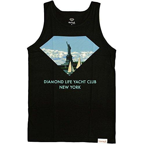 Diamond Supply Co. New York Yacht Club Tank Top Black