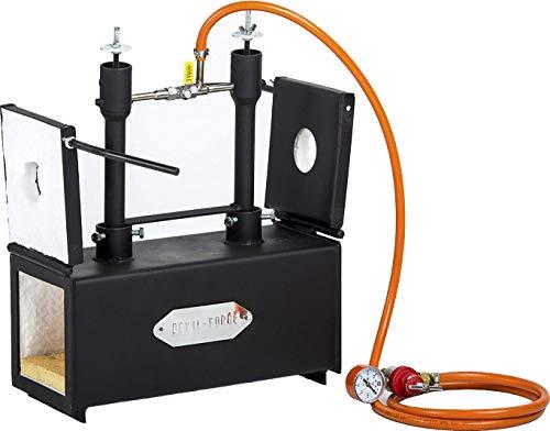 GAS Propan | Forge für Knifemaking | Dual Brenner | Hufner Schmiede | Ofen Brenner -