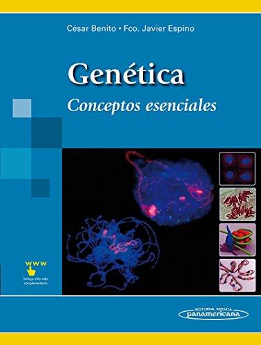 Genética: Conceptos esenciales por César Benito Jiménez