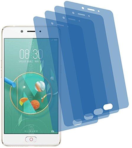 4ProTec 4X ANTIREFLEX matt Schutzfolie für ZTE Nubia N2 Premium Bildschirmschutzfolie Displayschutzfolie Schutzhülle Bildschirmschutz Bildschirmfolie Folie