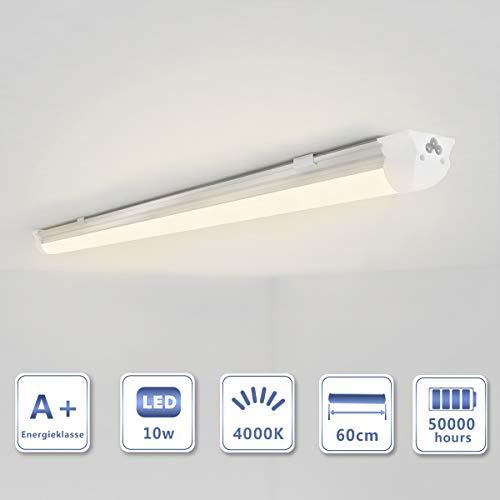 OUBO T8 tubo neon LED Lampada fluorescente 150cm Bianco caldo (3000k) 23w 2450Lm, 230 volt Copertura lattea, per corridoio, palestra, casa, Cucine