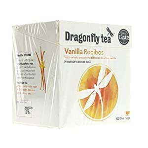 Dragonfly Rooibos Vanilla Tea 40 per pack by Dragonfly