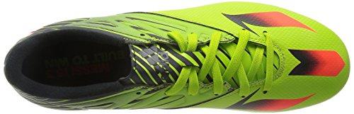 adidas Messi 15.3, Scarpe da Calcio Uomo Giallo (Semi Solar Slime/Solar Red/Core Black)