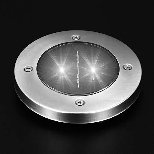 Beonzale Solar 2 LED Outdoor Pfad Licht Spot Lampe Hof Garten Rasen Landschaft wasserdicht
