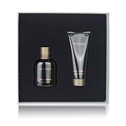 Dolce&Gabbana Intenso Geschenkset: 75ml Eau de Parfum + 100ml After Shave Balm