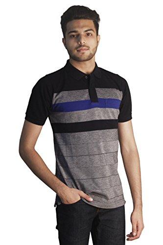 Tapasya Navy Royal Blue Polo T-Shirt