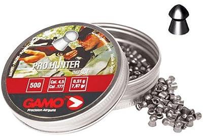 Balines de Competición Pro-Hunter Lata Metal 250 unidades Calibre 4.5 Gamo 6321924